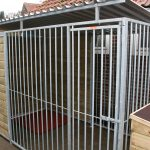 Kennel model Lago 3x2 meter deur rechts
